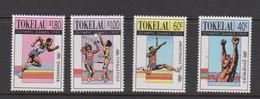 Tokelau SG 189-192 1992 Olympic Games Barcelona,mint Never Hinged - Tokelau