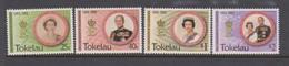Tokelau SG 197-200 1993 40th Anniversary Of Coronation ,mint Never Hinged - Tokelau