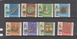Tokelau SG 208-215 1994 Handicrafts ,mint Never Hinged - Tokelau