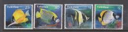 Tokelau SG 224-227 1995 Reef Fishes,mint Never Hinged - Tokelau