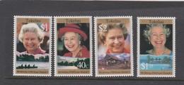 Tokelau SG 240-243 1996 70th Birthday Queen Elizabeth II ,mint Never Hinged - Tokelau