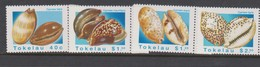 Tokelau SG 250-253 1996 Sea Shells,mint Never Hinged - Tokelau