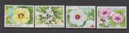 Tokelau SG 283-286 1998 Tropical Flowers,mint Never Hinged - Tokelau