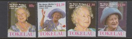 Tokelau SG 310-313 2000 Queen Mother Birthday,mint Never Hinged - Tokelau