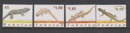Tokelau SG 314-317 2001 Lizards,mint Never Hinged - Tokelau