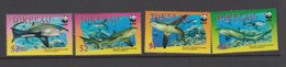 Tokelau SG 336-339 2002 Fish WWF,mint Never Hinged - Tokelau