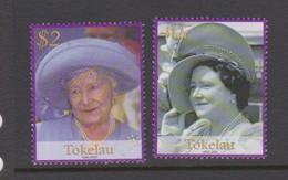 Tokelau SG 340-341 2002 Queen Mother Memorial,mint Never Hinged - Tokelau
