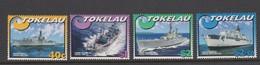 Tokelau SG 343-346 2002 Ships ,mint Never Hinged - Tokelau
