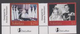 Tokelau SG 348-349 2003 Queen Elizabeth II Coronation Jubilee,mint Never Hinged - Tokelau