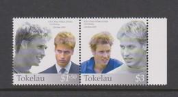 Tokelau SG 351-352 2003 Prince William Birthday,mint Never Hinged - Tokelau