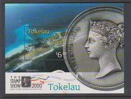Tokelau SG MS 308 2000 The Stamp Show Miniature Sheet,mint Never Hinged - Tokelau