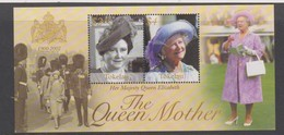 Tokelau SG MS 350 2002 Queen Mother Memorial,miniature Sheet,mint Never Hinged - Tokelau