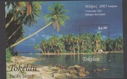 Tokelau SG MS 354 2003 Welpex Miniature Sheet,mint Never Hinged - Tokelau