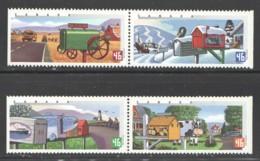2000  Rural Mailboxes  2 Se-tenant Pairs Sc 1849-52  MNH - Neufs