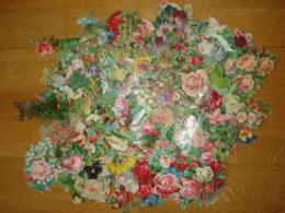 DECOUPIS LOT DE PLUSIEURS CENTAINES DE FLEURS - Flowers