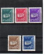 POL385 UNGARN 1930 MICHL 458/62 (*) FALZ SIEHE ABBILDUNG - Ungebraucht