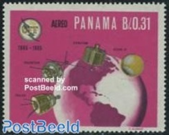 Panama 1966 I.T.U. 1v, (Mint NH), Transport - Space Exploration - Science - Telecommunication .. - Telecom