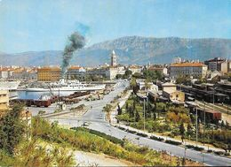 Split (Croatie) - Obala Sa železničkon Stanicom, Port, Gare - Carte Non Circulée - Croatia