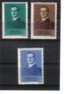 POL387 UNGARN 1938 MICHL 565/67 (*) FALZ SIEHE ABBILDUNG - Ungebraucht