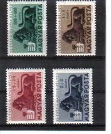 POL395 UNGARN 1946 MICHL 893/96 (*) FALZ SIEHE ABBILDUNG - Ungebraucht