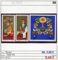 Polen - Poland - Pologne - Michel 1693-1695 - ** Mnh Neuf Postfris - 1944-.... Republic