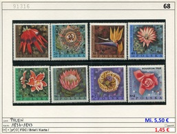 Polen - Poland - Pologne - Michel 1836-1843 - ** Mnh Neuf - Blumen - Fleurs - Flowers - 1944-.... Republic