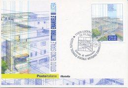 ITALIA - FDC MAXIMUM CARD 2004 - SCUOLA VITTORIO EMANUELE III - LUCERA - ANNULLO SPECIALE - Cartoline Maximum