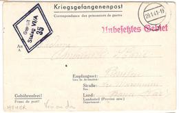 17496 - STALAG  VI A HEMER - Poststempel (Briefe)