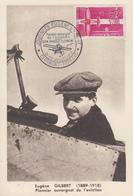 Carte  Journées    EUGENE   GILBERT     CLERMONT  FERRAND    1962 - Airplanes