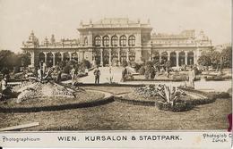 6-WIEN-KURSALON & STADTPARK - Stazioni Senza Treni