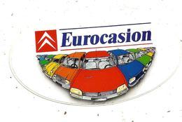 Autocollant , Automobile, CITROEN ,  EUROCASION - Autocollants