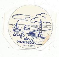 Autocollant , LES OEUFS DE MOUETTE ,  103 - LXXVI - Aufkleber
