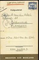 Vlaamse Collaboratie. Oostfronter Uit Oudenaarde. Brieven Uit Rusland - 1939-45