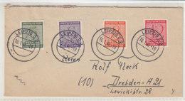 Sammlerbrief Mit 116/19 Aus LEIPZIG 10.1.46 - Sowjetische Zone (SBZ)