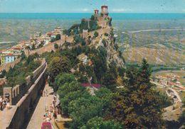 Cp , SAINT-MARIN , GUAITA, Plus Vieille Forteresse (XIe S.) De La Villa - San Marino