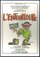 Carte Postale : L'Entourloupe (cinéma Affiche - Film De Gérard Pires) Illustration Reiser (billet De Banque) - Affiches Sur Carte