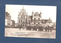 Carte Photo Duitse Fotokaart Mechelen Deutsche Marinesoldaten In Mecheln 1914 1918 - Malines