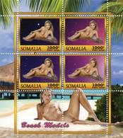 Somalia Block Sexy Erotik Model **/MNH - Vignetten (Erinnophilie)