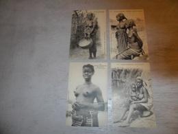 Beau Lot De 60 Cartes Postales D' Afrique Africa Afrika  Seins Nus Nu  Dakar  Sénégal  Djibouti  Tunis  Algérie - Cartes Postales