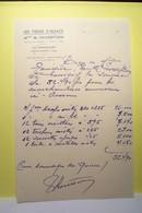 CHOISY - AU - BAC   -   LE FRANCPORT  - Les Tissus D'Alsace   - M.THORETTON - POUR DOMMAGES DE GUERRE - Textile & Clothing