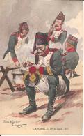 Thème, Empire , ILLUSTRATEUR Pierre Albert LEROUX, Caporal Du 54e De Ligne - 1814  , Uniforme - Uniforms