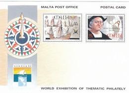 GOOD MALTA Postal Stationery 1992 - Europa / Columbus - Malta