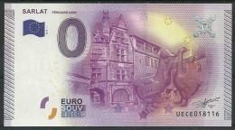 Billet Touristique 0 Euro 2015  Sarlat Périgord Noir - Essais Privés / Non-officiels