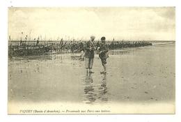 33 PIQUEY PROMENADE AUX PARCS AUX HUITRES BASSIN ARCACHON GIRONDE - Francia