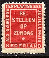 1900 Bestellen Op Zondag MNH (577) - Periode 1891-1948 (Wilhelmina)