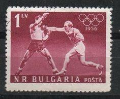 Ref: 1392. Bulgaria. 1956. Deportes Olímpicos. Boxeo. - 1945-59 República Popular