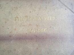 60 - BEAUVAIS - LOT DE 9 PHOTOS EXTRAITES D UN ALBUM DE VOYAGE (1894/1895) - Photographs