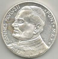Roma, Papa Giovanni Paolo II, Pax Semper Sit Inter Homines. Mist. Ag. Gr. 17, Cm. 3,5. - Italia