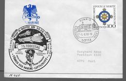 ALLEMAGNE Lettre 1993 Bonn Marine Zeppelins - Zeppelins