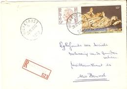 Belgique 1981 - Lettre Recommandée De Wiekevorst - Province D'Anvers - COB 1962/2020 - Covers & Documents